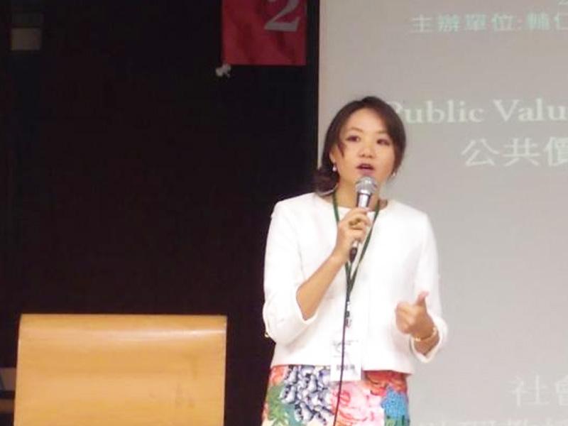 所友簡赫琳榮升文藻副教授