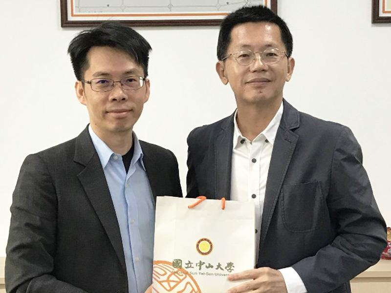 所長出訪:訪問台灣港務公司郭總