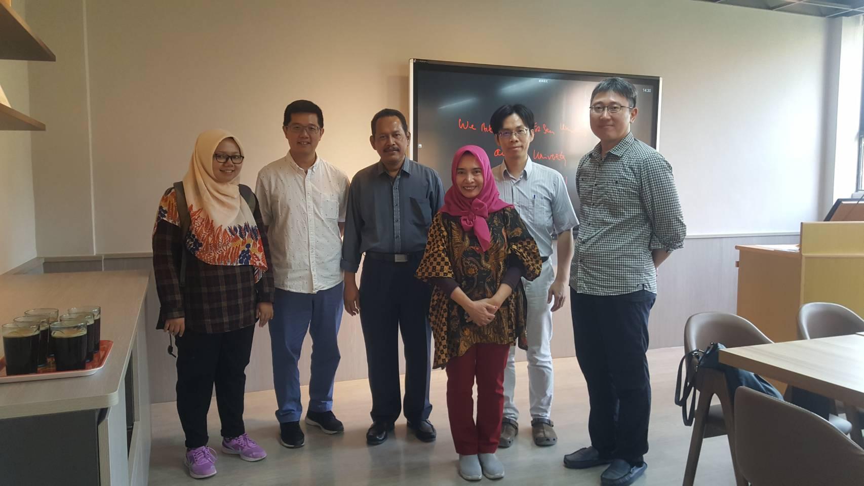 Airlangga University Vice Dean 來訪