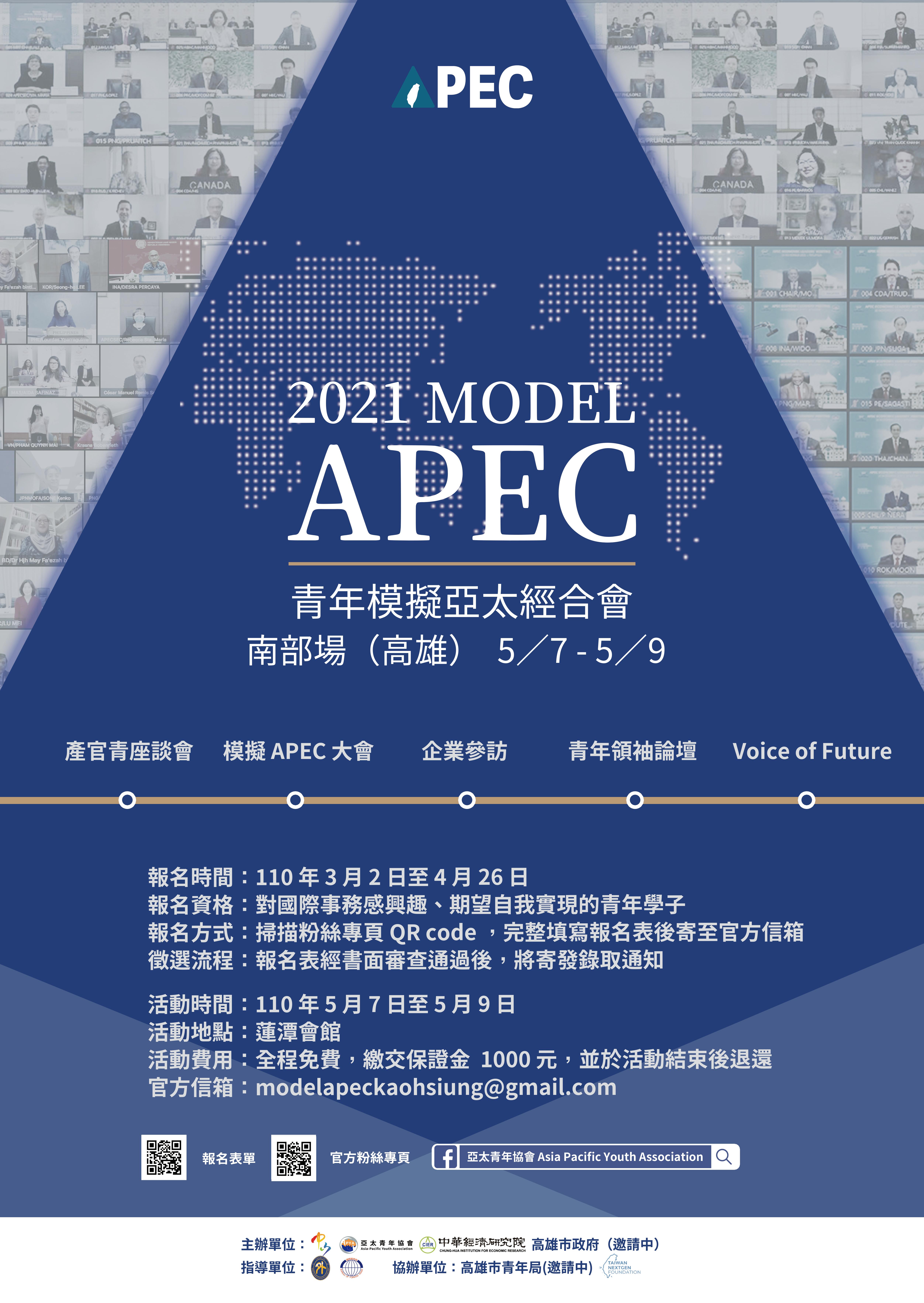 2021年 Model APEC